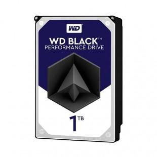 هارد دیسک اینترنال وسترن دیجیتال سری مشکی ظرفیت ۱ ترابایت - ریفر