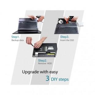 هارد اس اس دی سیلیکون پاور مدل اسلیم S55 ظرفیت ۲۴۰ گیگابایت