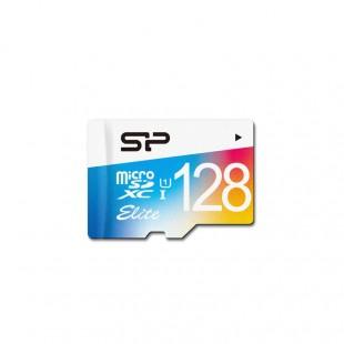کارت حافظه سیلیکون پاور مدل Color Elite ظرفیت 128 گیگابایت