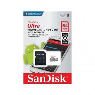 کارت حافظه سن دیسک مدل Ultra ظرفیت ۶۴ گیگابایت