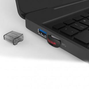 فلش مموری سن دیسک مدل اولترا فیت ظرفیت ۱۶ گیگابایت