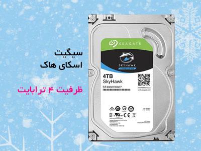 هارد دیسک اینترنال سیگیت سری اسکای هاک ظرفیت ۴ ترابایت