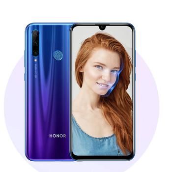 گوشی موبایل آنر مدل 20 Lite HRY-LX1T دو سیم کارت ظرفیت 128 گیگابایت