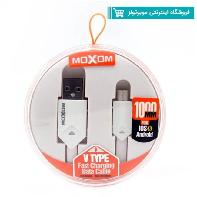 کابل فست شارژر Micro-USB موکسوم مدل CC-09