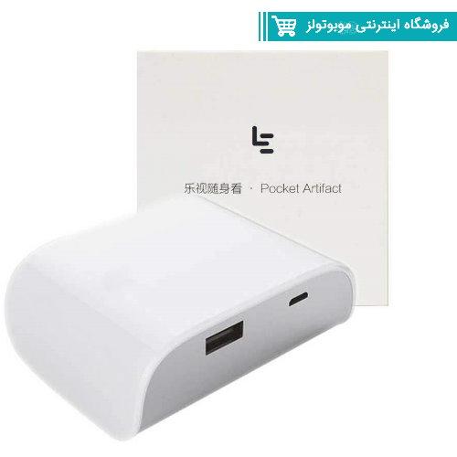 پاوربانک لی اکو مدل Pocket Artifact ظرفیت 10050میلی آمپر ساعت