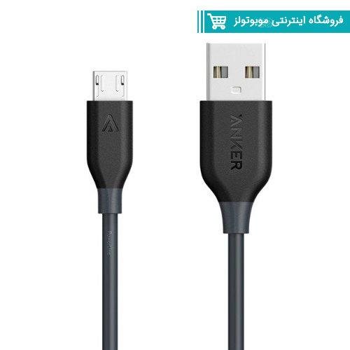 کابل تبديل USB به microUSB انکر مدلA8133 باگارانتی آواژنگ