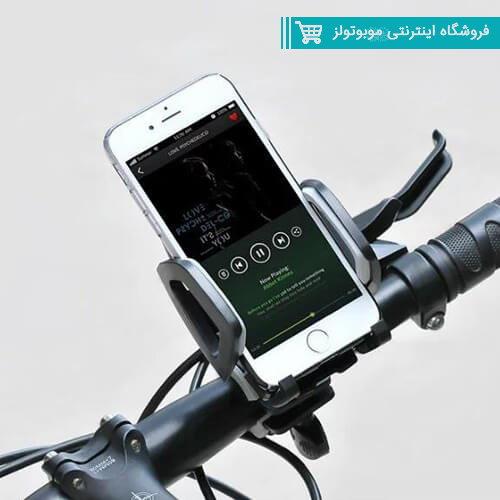 پایه نگهدارنده موبایل مناسب دوچرخه