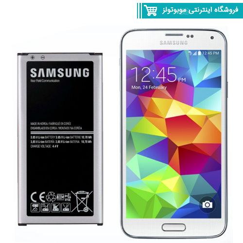 باتری موبایل مدل G900 با ظرفیت 2800mAh مناسب برای گوشی موبایل Galaxy S5(با60 روز گارانتی تعویض)