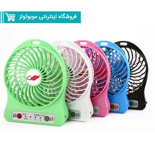 پنکه-شارژی-رومیزی-چراغ-قوه-دارDesktop-Fan1