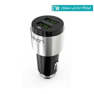 LDNIO-C403-Car-Charger-With-فندکی الدینوmicroUSB-Cable