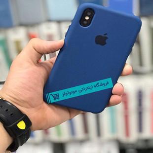 قاب سیلیکونی آیفون مناسب برای کلیه گوشی های iphone (آبی نفتی)