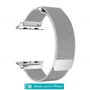 Milanese Metal Band For Apple Watch 384244mm silver