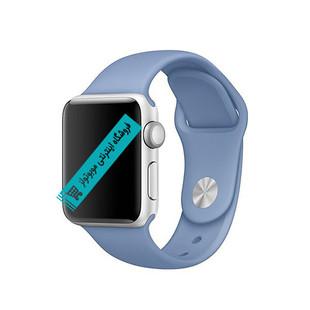 بند سیلیکونی سایز 42و 38 apple watch رنگ آبی