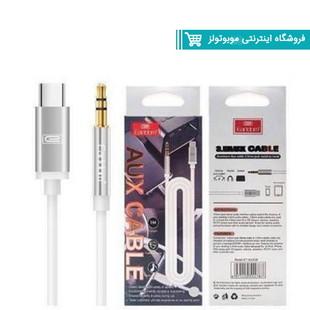 کابل انتقال صدا به Type C ارلدام Earldom ET-AUX28 AUX Cable طول 1 متر