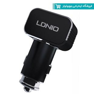 شارژر فندکی LDNIO C306 با کابل اندویدی