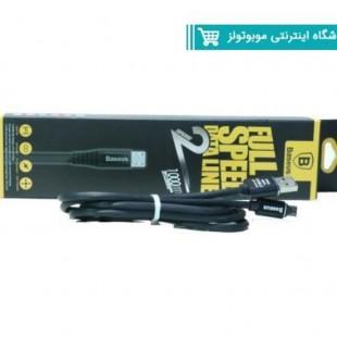 کابل شارژر سر فلزی Baseusمناسب گوشی های اندروید مدل B120