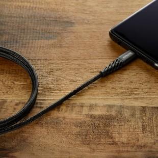کابل کنفی USB به Type_C آینوبن مشکی با گارانتی مادامالعمر هایپرسل'.jpg