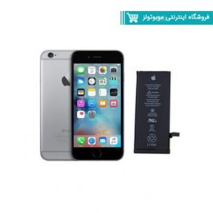 باتری موبایل مدلIphone 6 Plus با ظرفیت 2750mAh مناسب برای گوشی موبایل Iphone 6 Plus (با60 روز گارانتی تعویض)