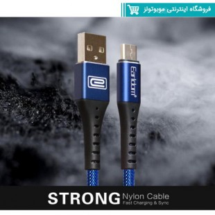 کابل microusb ارلدام Earldom EC-058C Strong توان 2.4 آمپر و طول 1 متر