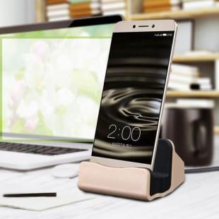 پایه نگهدارنده و شارژر رومیزی گوشی های اندرویدی مدل charge-sync dock
