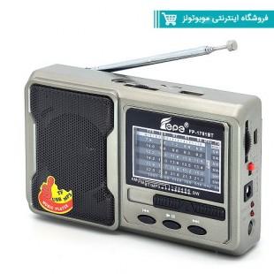اسپیکر رادیو دار فلش خور مدل  Fp-1781bt