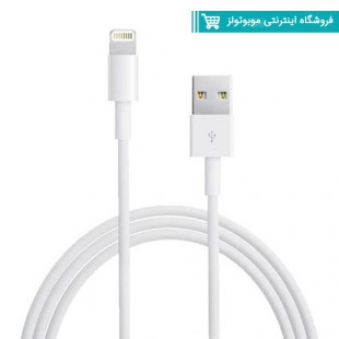 کابل شارژر و انتقال داده اورجینال آیفون Apple iphone 8 - 8plus
