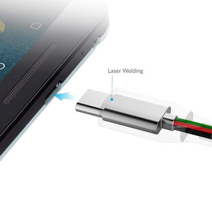 کابل تبدیل USB-C به USB انکر مدل A8168 PowerLine Plus طول 0.9 متر