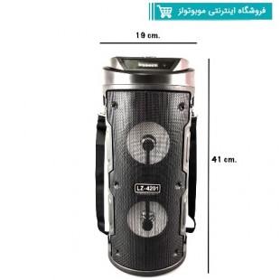 اسپیکر بلوتوث میکروفون دار مدل LZ4201