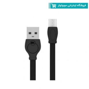 کابل تبدیل USB به MICRO USB دبلیو کی مدل WDC-023 به طول 2 متر
