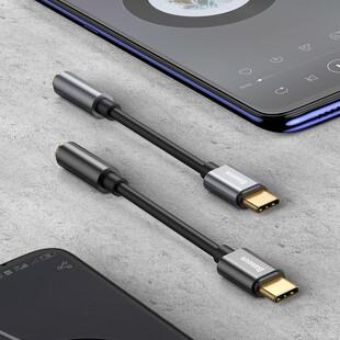 مبدل USB-C به AUX باسئوس مدل CATL54-01