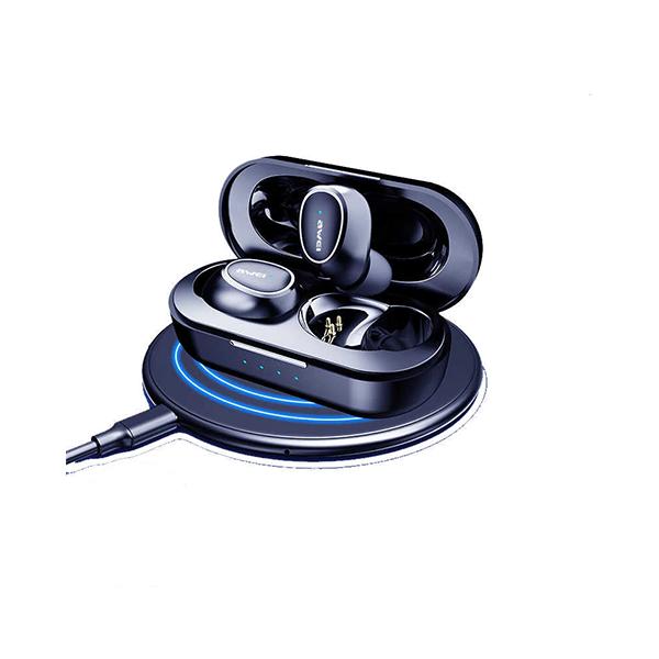 هندزفری بلوتوث دو تایی اوی AWEI T16 Bluetooth Earphone با داک شارژ