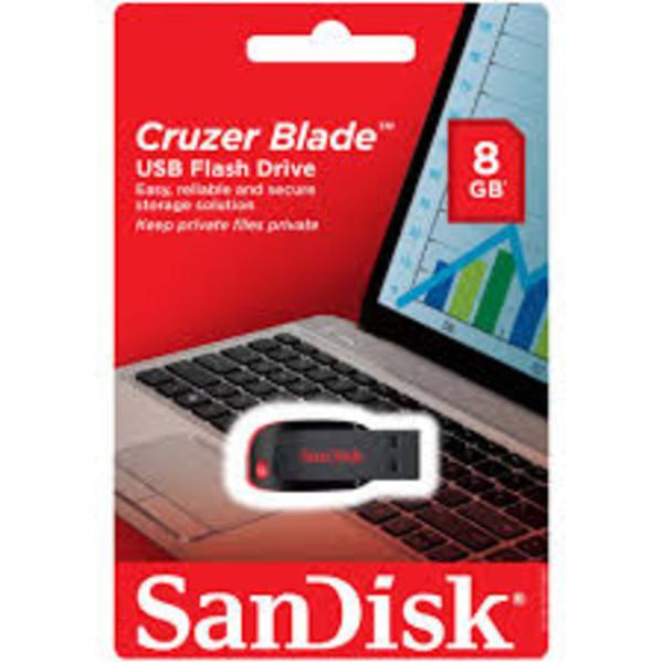 فلش مموری سن دیسک Cruzer Blade USB2.0 8GB