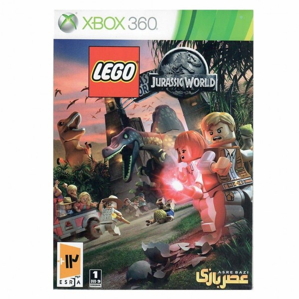 بازي Lego Jurassic World مخصوص ايکس باکس 360