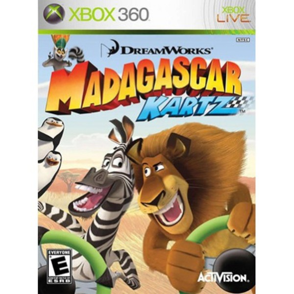 بازی Madagascar Kartz نسخه Xbox 360