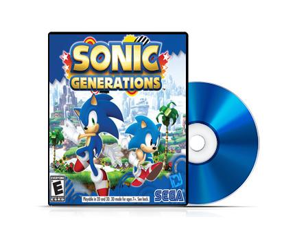 بازی Sonic Generations برای PC