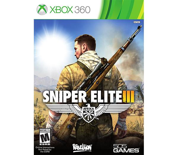 بازی Sniper Elite III مخصوص ایکس باکس 360