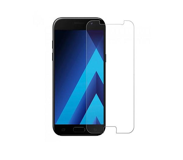 محافظ صفحه نمایش شیشه ای مدل تمپرد مناسب برای گوشی موبایل سامسونگ A7 2017