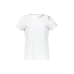 تی شرت نخی یقه گرد زنانه – ژان لوییس فرانسوا – سفید