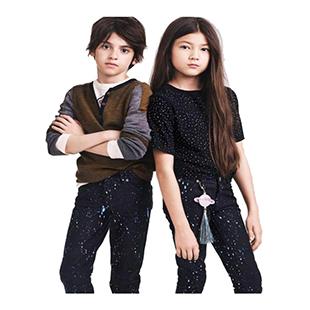 شلوار طرحدار دخترانه پسرانه H&M