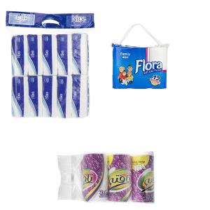 پک ویژه دستمال کاغذی و توالت