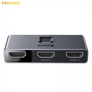 سوییچ دو پورت HDMI بیسوس Baseus CAHUB-BC0G