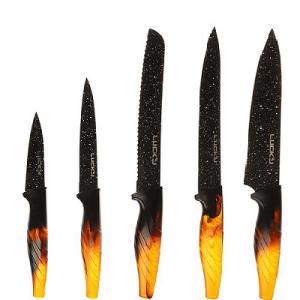 ست چاقوی 6 پارچه لاکی مدل LK-NK17