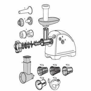 چرخ گوشت تفال مدل NE610138
