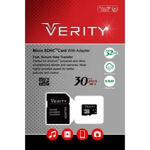 رم وریتی Verity Micro Class 10 30MB/S 32GB