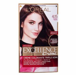 کیت رنگ موی لورآل سری Excellence شماره 4.15