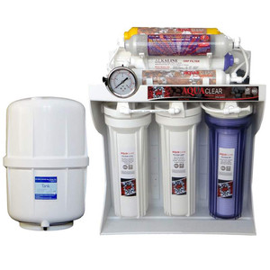 تصفیه کننده آب خانگی آکوآکلر مدل RO-C172 به همراه مخزن