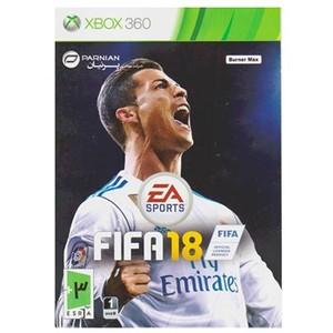 بازی FIFA 18 مخصوص Xbox 360