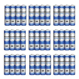 باتری قلمی پاناسونیک مدل Hyper بسته 36 عددی