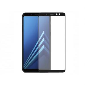 محافظ صفحه نمایش شیشه ای مدل 5D مناسب برای گوشی سامسونگ A8 2018