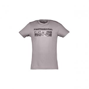 تی شرت نخی یقه گرد مردانه – آر ان اس – فیروزه ای